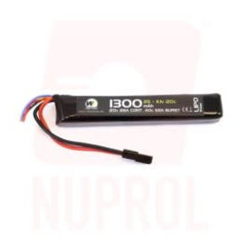 WE Nuprol 1300mah 11.1v 20c Lipo Stick Type