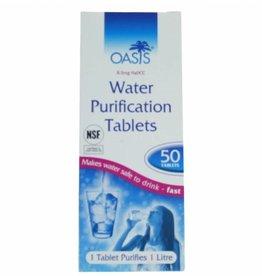 oasis BCB WATER ZUIVERINGS TABLETTEN (2 X 50 STUKS)
