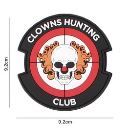 101 inc 3D PVC CLOWNS HUNTING CLUB ROOD