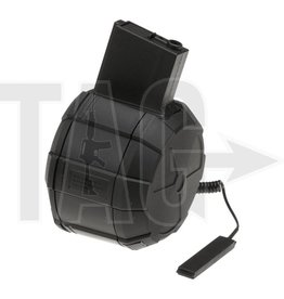 ICS ICS Drum Mag M4 1800rds ICS Black
