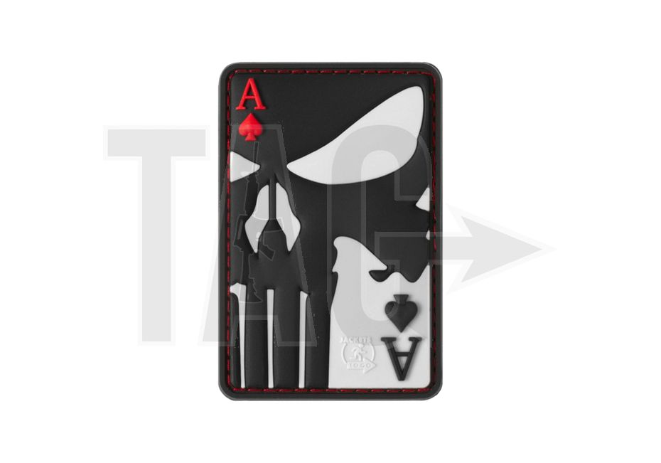 JTG JTG Punisher Ace of Spades Rubber Patch