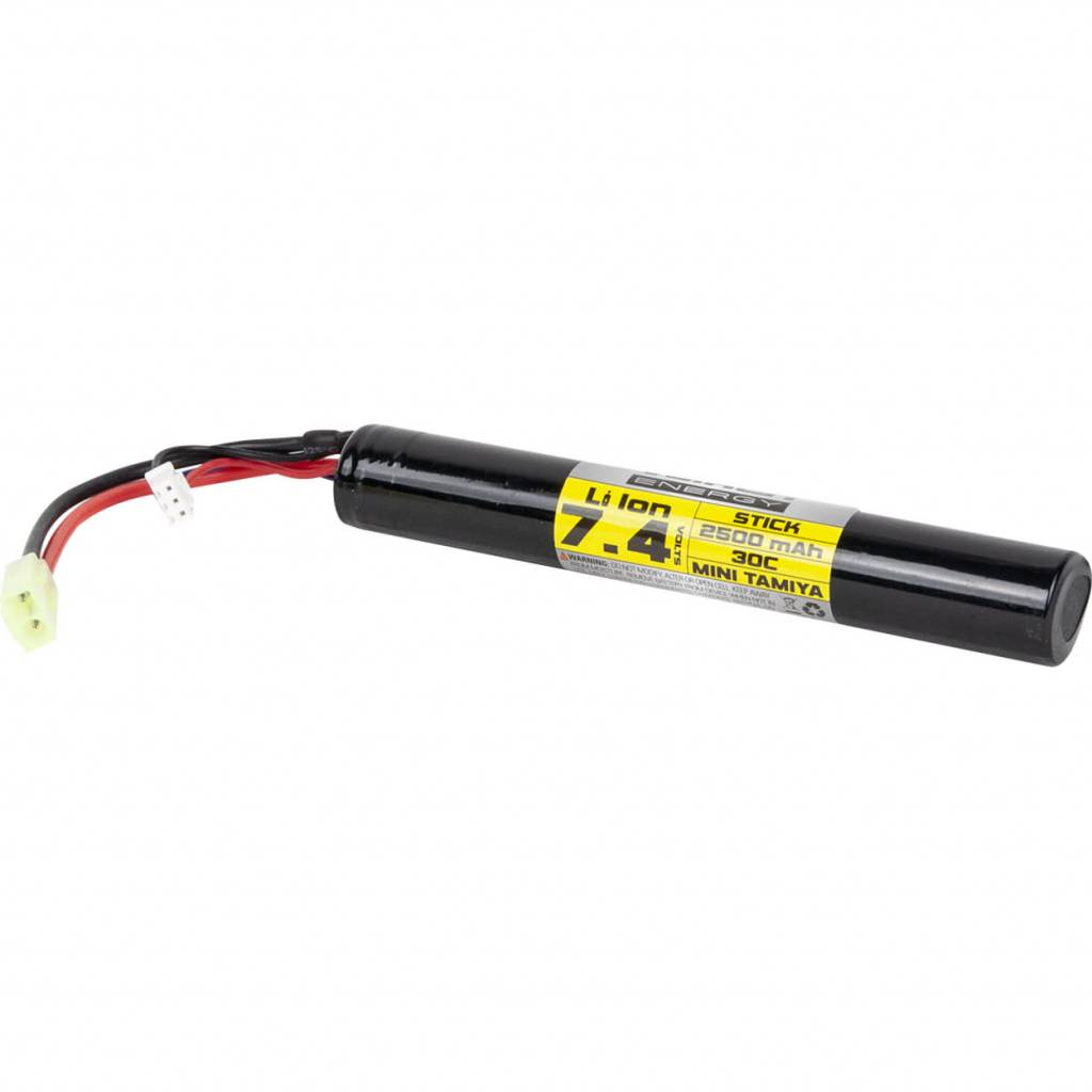 Valken Valken Airsoft Battery - Li-Ion 7.4V 2500mAh Stick Style(High Output)