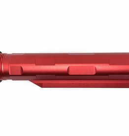 Castellan Castellan Helix 6 Position Stock tube for M4 AEG - Red