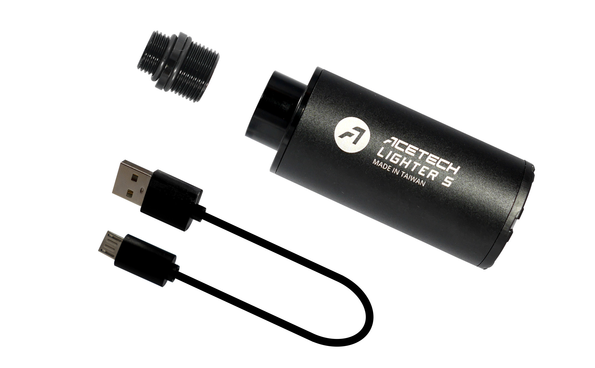 ACETECH Lighter S versie 2 met adapter van 14-11mm