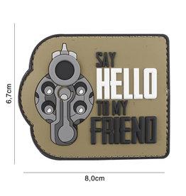 101 inc 3D PVC sagt Hallo zu meinem Freund COYOTE