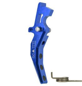 maxx MAXX MODEL CNC Aluminum Advanced Trigger (Style C) (Blue) MX-TRG001SCT