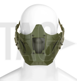 pirates arms Pirates Arms Warrior Steel Half Face Mask OD