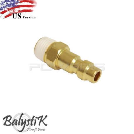 Balystik BalystiK-Nippel mit 1/8 NPT-Außengewinde (US-Version)