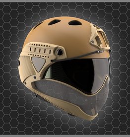 WARQ WARQ FULL FACE HELMET TAN
