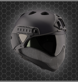 WARQ WARQ FULL FACE HELMET Black