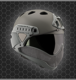 WARQ WARQ FULL FACE HELMET GREY