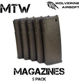Wolverine MTW Magazines - 5 Pack