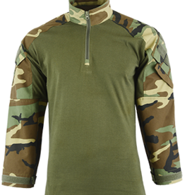 Shadow Strategic Shadow Strategic HYBRID TACTICAL SHIRT Woodland Camo SHS-3207