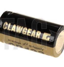Claw Gear CR123 Lithium batterij 3V