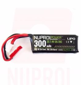 Nuprol NuProl Power 300mah 7.4v 35-70c (HPA MICRO Type)