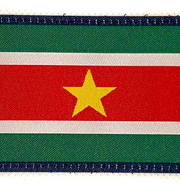 Camaleon Suriname patch flag geweven patch 5-8cm