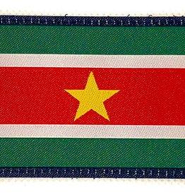 Camaleon Suriname Patch Flagge gewebt Patch 5-8 cm