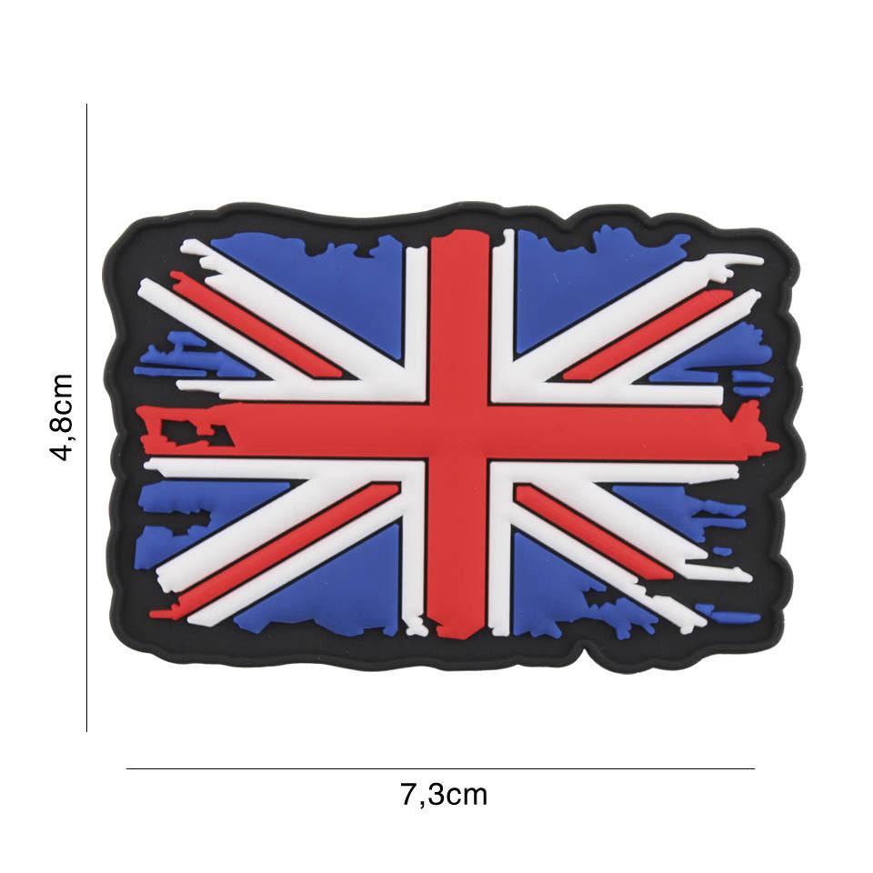 EMBLEEM 3D PVC UK VINTAGE