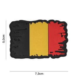 EMBLEM 3D PVC BELGIUM VINTAGE