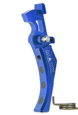 maxx Maxx Model Black CNC Aluminum Advanced Trigger (Style D) (Blue)