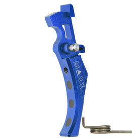 maxx Black CNC Aluminum Advanced Trigger (Style D) (Blue)