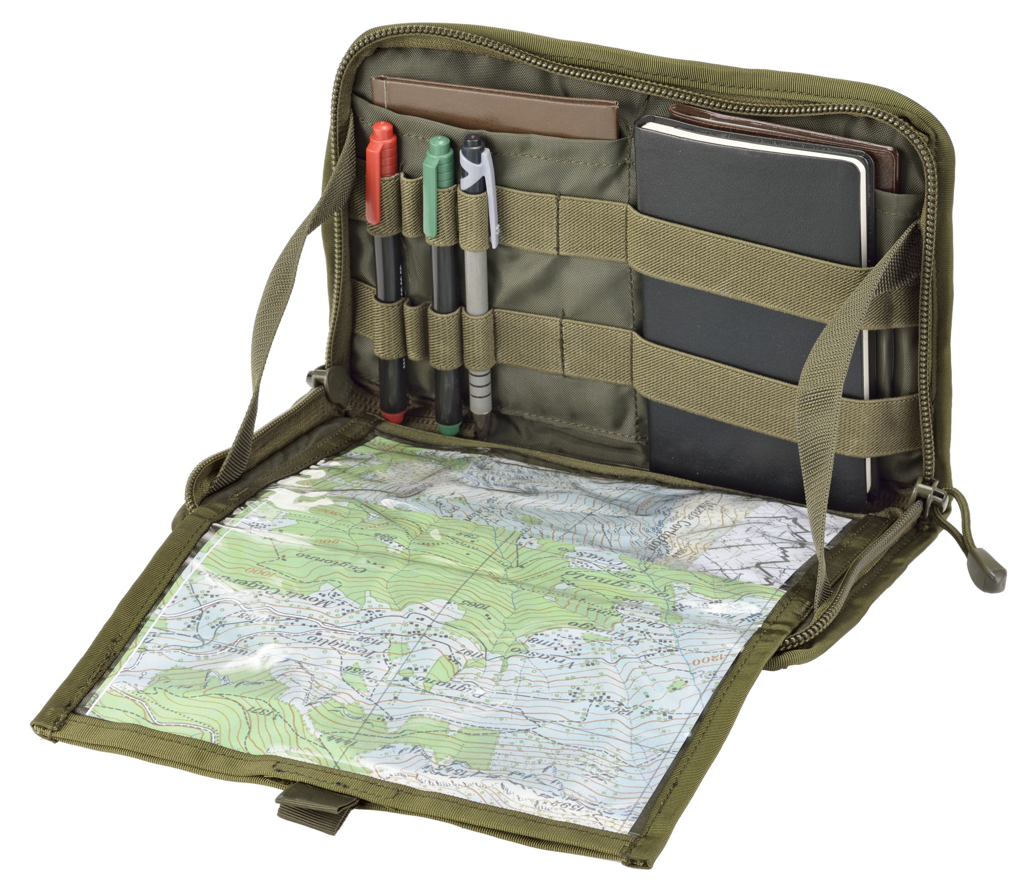 Shadow Elite OD COMMANDER PANEL / MAP POUCH SHE-1044