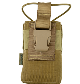 "Shadow Elite ""ARP"" ADJUSTABLE RADIO POUCH Coyote SHE-21090"
