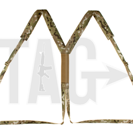 Warrior Assault Systeem Slimline Harness Multicam