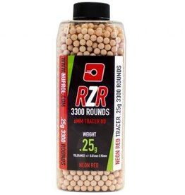 Nuprol NP RZR 3300RND 0.25G RED TRACER BB'S