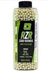 Nuprol Copy of NP RZR 3300RND 0.20G Green TRACER BB'S