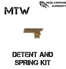 Wolverine MTW Detent Pin and Spring Kit