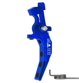 MAXX CNC Aluminum Advanced Speed Trigger (Style C) (Blue)