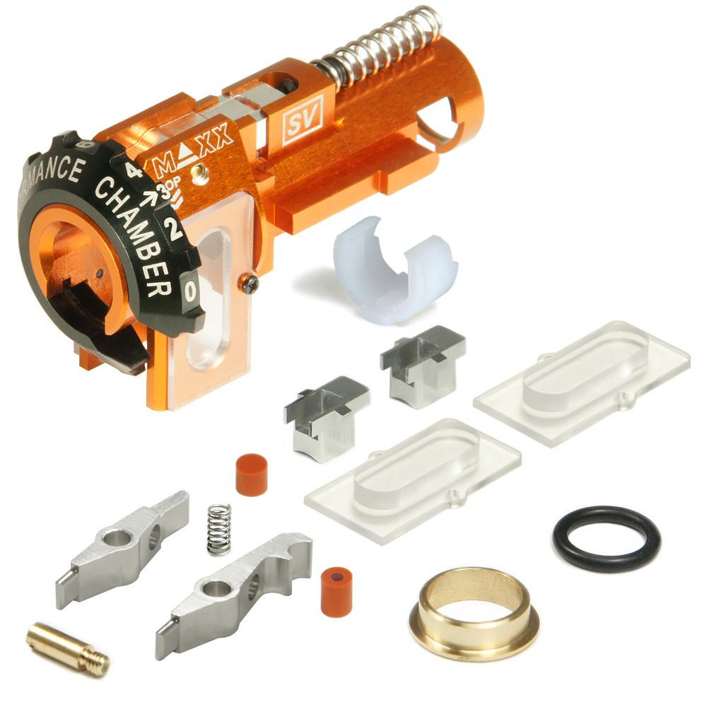 MAXX CNC Aluminium Hopup Kammer SV - VFC SCAR-L / H