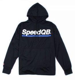 SpeedQB Tech Hoodie XL (Black/Blue)