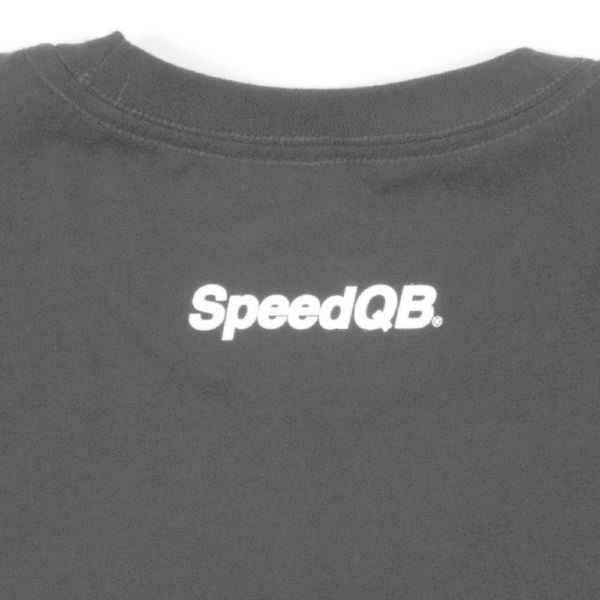 SpeedQB UNDERSCORE T-SHIRT - BLACK