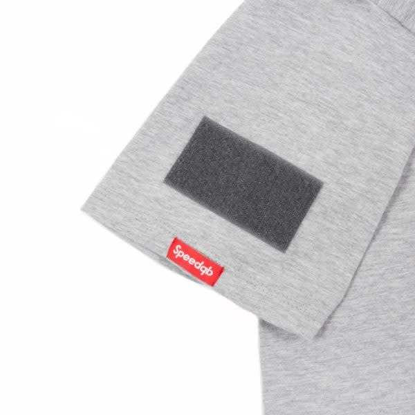 SpeedQB SpeedQB VERTICAL T-SHIRT – H. GREY