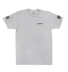 SpeedQB VERTICAL T-SHIRT – H. GREY