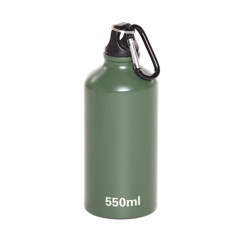 Fosco Alu. bottle with carabiner