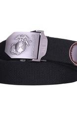 101 inc Web belt style 4 US Marines Black
