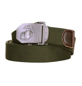 101 inc Web belt style 4 US Marines Green