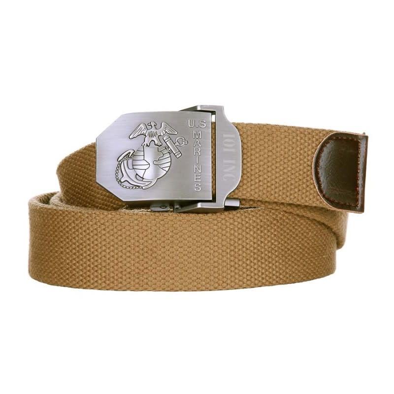 101 inc Web belt style 4 US Marines Tan