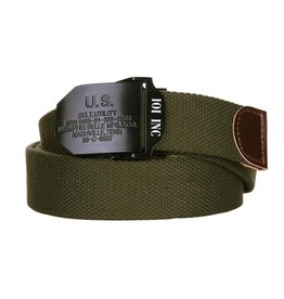101 inc Web belt style 7 U.S. green