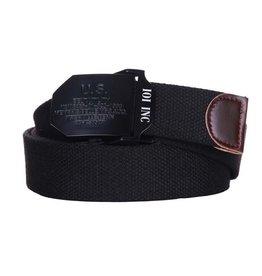 101 inc Web belt style 7 U.S. Black