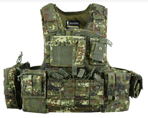 Shadow Strategic SHS2 Assault Plate Carrier SHS-080 Flacktarn