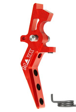 MAXX MAXX CNC Aluminum Advanced Speed Trigger (Style A) (RED)