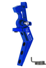 MAXX MAXX CNC Aluminum Advanced Speed Trigger (Style A) (Blue)