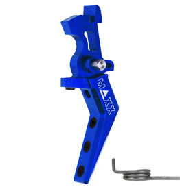 MAXX MAXX CNC Aluminum Advanced Speed Trigger (Style A) (Blue)