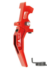 MAXX MAXX CNC Aluminum Advanced Speed Trigger (Style C) (Red)