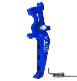 MAXX CNC Aluminum Advanced Speed Trigger (Style E) (Blue)