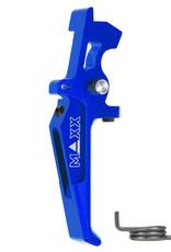 MAXX MAXX CNC Aluminum Advanced Speed Trigger (Style E) (Blue)